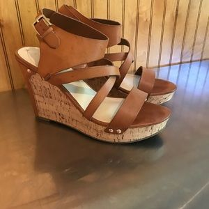 Guess Platform wedge Heels